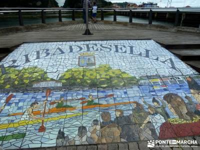 Descenso Sella - Lagos de Covadonga; excursiones en semana santa; viajes en otoño;iniciacion sender
